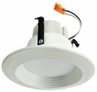 Cyber Tech LC10RT4-345K Contemporary White LED Dimmable Baffled Tunable 4 Recessed Ceiling Light