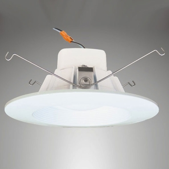 Cyber Tech LC12RT6-ECO LED Indoor/Outdoor 5-6  Dimmable Baffled Retrofit Down Lighting Fixture
