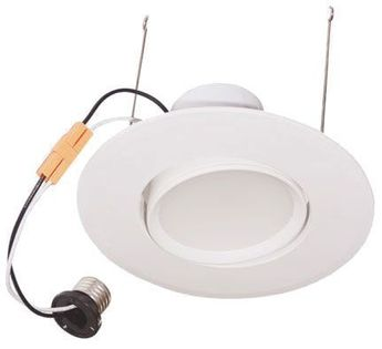 Cyber Tech LC17RT6-PIVOT/WW Contemporary LED Recessed Can Retrofit Kit