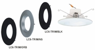 Cyber Tech LC6-TRIM 6  Round Recessed Lighting Trim
