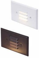 Cyber Tech SP1HZ/BZ-WH/830 Contemporary Bronze LED Exterior Step Light
