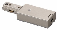Cyber Tech TL-EJBX/NS Contemporary Nickel Track Light End Connector for J-Box