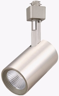 Cyber Tech TL60CTH-NS Contemporary Nickel Satin LED Dimmable Tubular Track Lighting Head