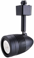 Cyber Tech TL7BTH-BL Modern Black LED Dimmable Bullet Track Lighting Head