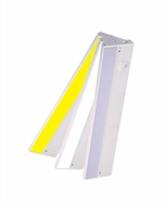 Cyber Tech ULXXX-DCT Contemporary White LED Dimmable Undercabinet Dual Color Under Cabinet Lighting