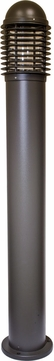 Dabmar D3300-LED112-BZ Contemporary Bronze LED Outdoor Powder Coated Cast Aluminum Bollard Pathway Lighting