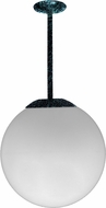 Dabmar D7500-12-LED16-VG Contemporary Verde Green LED 12  Lighting Pendant