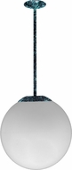 Dabmar D7500-18-VG Contemporary Verde Green 18  Pendant Hanging Light