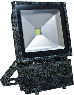 Dabmar DF-LED5967-VG Flood Light Modern Verde Green LED Exterior Landscape Residential Security Lighting