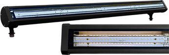 Dabmar DF-LED9402-B LED Linear Flood & Sign Modern Black LED Exterior Sign Light