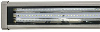 Dabmar DF-LED9402-SLV LED Linear Flood & Sign Contemporary Silver LED Outdoor Sign Lighting