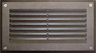 Dabmar DSL1000-BZ Bronze Outdoor Recessed Louvered Step Lighting