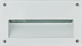 Dabmar DSL1003-W White Outdoor Recessed Step Lighting