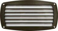 Dabmar DSL1015-BZ Bronze Outdoor Recessed Louvered Step Lighting Fixture