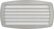 Dabmar DSL1015-W White Outdoor Recessed Louvered Step Lighting