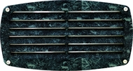 Dabmar DSL1017-VG Verde Green Outdoor Recessed Louvered Step Lighting