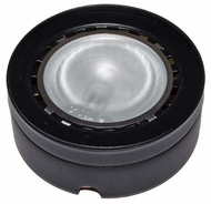 Dabmar DW09-B Single Downlight Contemporary Black Halogen Indoor / Outdoor Under Cabinet Light