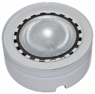 Dabmar DW09-W Single Downlight Modern White Halogen Interior / Exterior Under Counter Light