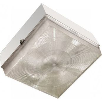 Dabmar DW6600-LED20-W Contemporary White LED Outdoor Ceiling Light