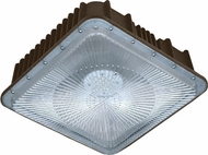 Dabmar DW6680-BZ Modern Bronze LED Exterior Ceiling Lighting