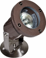 Dabmar FG313 Bronze Fiberglass Halogen Outdoor Fiberglass Pond/Fountain Underwater Light