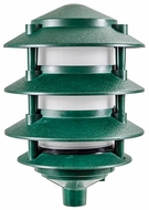 Dabmar FG5100-LED6-G Pagoda Contemporary Green LED Outdoor Landscape Pathway Lighting