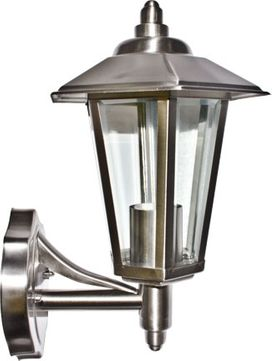 Dabmar GM120-SS Stainless Steel Contemporary Stainless Steel Outdoor Wall Lighting Fixture