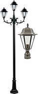 Dabmar GM1303S-LED16-BZ Daniella Bronze LED Outdoor Pole Lighting Fixture