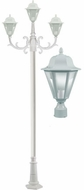 Dabmar GM1303S-LED16-W Daniella White LED Outdoor Post Lamp