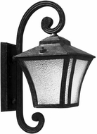 Dabmar GM210-B Small Wall Black Exterior Wall Lighting