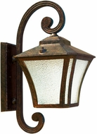 Dabmar GM210-DS Small Wall Dark Bronze Stone Exterior Wall Mounted Lamp