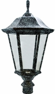 Dabmar GM225-LED30-VG Large Post Top Verde Green LED Exterior Post Light Fixture Top