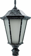 Dabmar GM225-VG-FROST Large Post Top Verde Green Outdoor Post Lamp Top