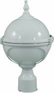 Dabmar GM982-W White Outdoor Powder Coated Cast Aluminum Wall Lighting Sconce