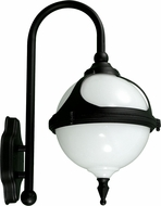 Dabmar GM986-B Black Outdoor Powder Coated Cast Aluminum Wall Lighting Fixture