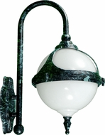 Dabmar GM986-VG Verde Green Exterior Powder Coated Cast Aluminum Wall Light Sconce