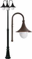 Dabmar GM9903-BZ Marquee Contemporary Bronze Outdoor Lamp Post Light