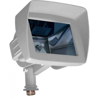 Dabmar LV-LED105-HOOD-W Modern White LED Exterior Landscape Lighting Design Mini Flood Light