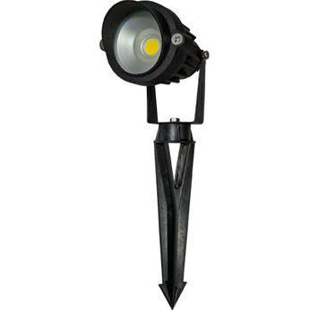 Dabmar LV-LED120-30K-B Directional Landscape Spot Light Contemporary Black LED Outdoor Landscape Spot Lighting