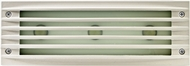Dabmar LV-LED621-W Contemporary White LED Outdoor Recessed Louvered Step Light