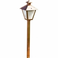 Dabmar LV-LED82-CP Contemporary Copper LED Outdoor Lamp Post Light