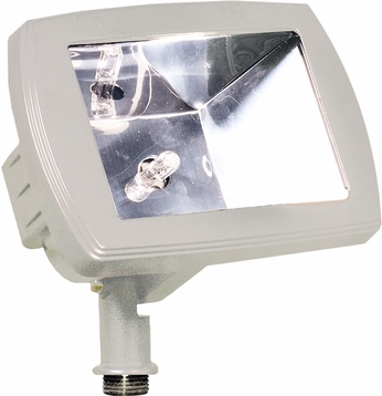 Dabmar LV105-W Modern White Halogen Exterior Residential Security Lighting