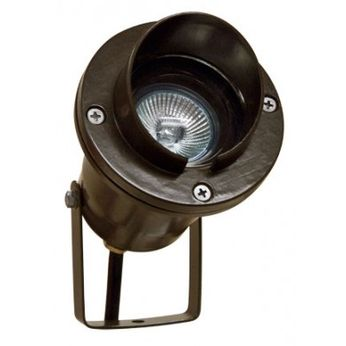 Dabmar LV109-LED-BZ Contemporary Bronze LED Outdoor Residential Landscape Lighting Spot Light