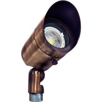 Dabmar LV131-LED-ABZ Modern Antique Bronze LED Exterior Landscape Lighting Design Spot Light