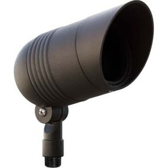 Dabmar LV202-LED-B Modern Black LED Exterior Landscape Lighting Spot Light