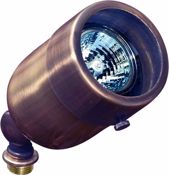 Dabmar LV29-ABZ Contemporary Antique Bronze Halogen Outdoor Directional Landscape Spot Light