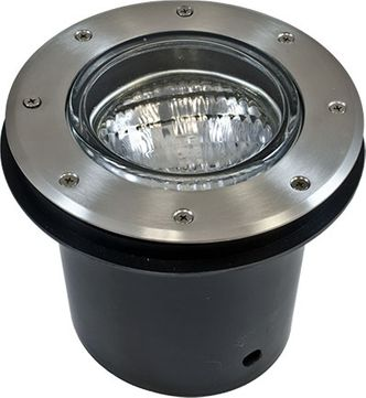 Dabmar LV306-SS304-SLV Well Light Contemporary Stainless Steel Halogen Outdoor Well Lamping