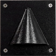 Dabmar LV607-B Black Halogen Outdoor Recessed Step Light Fixture