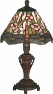 Dale Tiffany 8033-640 Dragonfly Tiffany Antique Bronze Table Lighting
