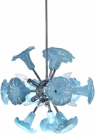 Dale Tiffany AH18014 Yuri Modern Polished Chrome Hanging Light